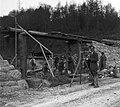 Vasút és vasúti átjáró építése Kamanje mellett. Fortepan 17855.jpg