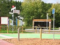 Vennbahnradweg, Wetterschutzhäuschen am Bf.Kalterherberg.jpg