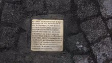 File: Laying the Stolperstein Historic City Hall Cologne.WebM