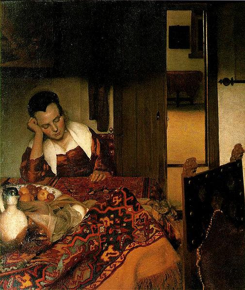 File:Vermeer - Girl Asleep.jpg