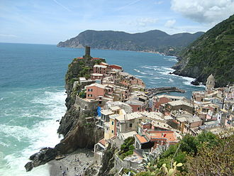 Vernazza - View from the south