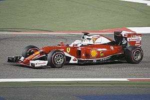 2016 Bahrain Grand Prix - Sebastian Vettel was fastest in third practice.