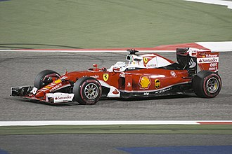 2016 Bahrain Grand Prix - Sebastian Vettel was fastest in third practice.