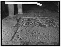 Via Dolorosa, beginning at St. Stephen's Gate. Roman games cut in the 'pavement' LOC matpc.00689.jpg