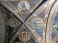 Via angelica, oratorio di s. urbano, volta, allegorie della venuta di cristo, xiv sec. 02.JPG
