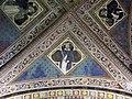 Via angelica, oratorio di s. urbano, volta, santi domenicani, xiv sec. 02.JPG