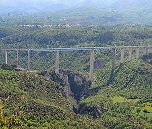 Autostrada A3 (Italy) - Italia Viaduct
