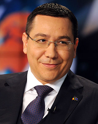 Romanian presidential election, 2014 - Image: Victor Ponta debate November 2014