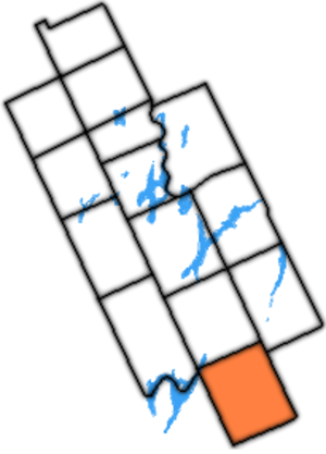 Manvers Township - Manvers Township within former Victoria County