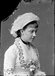 ef87f60b4a5c Victoria som ung prinsessa av Baden.