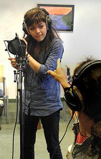 Vienna 2011-06-24 Mihaela Ursuleasa (voice recording session).jpg