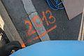 Vienna 2013-04-14 Vienna City Marathon 0 - Starting line mark 2013.jpg