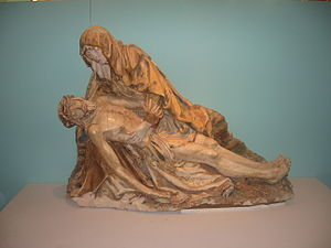 Bayel - The Virgin of Pity Statue