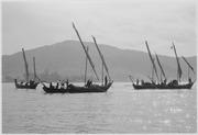 Vietnam....Units of Vietnamese junk force at anchor. - NARA - 558527