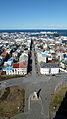 View from Hallgrímskirkja, Reykjavik (6969737574).jpg