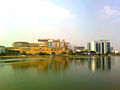 View of Inorbit Mall from Durgamcheruvu Lake.jpg