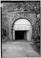 View of W tunnel portal. - American Railroad, Guajataca Tunnel, PR Route 2, KM 104.2, Mora, Isabela Municipio, PR HAER PR,45-COTO,1-2.tif