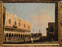 View of the Piazetta San Marco Looking South, Canaletto - Indianapolis Museum of Art - DSC00695.JPG
