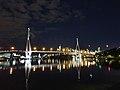 View of the Pyrmont Bridge from Glebe Foreshore in Sydney, Australia.jpg