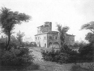 Villa in der Nähe von Rom by Rudolf Wiegmann.jpg