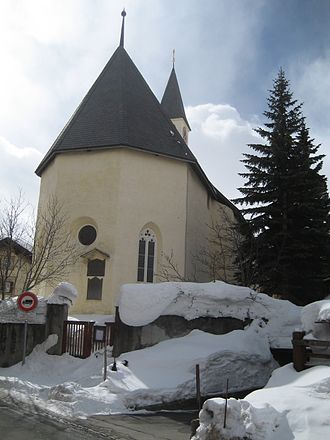 Silvaplana - Village church in Silvaplana