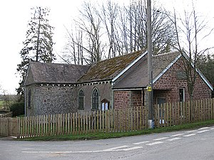Flaxley - Image: Village Hall, Flaxley geograph.org.uk 1218796