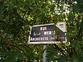 Villefranche-sur-Saône - Rue Léon Weber, plaque (sept 2019).jpg