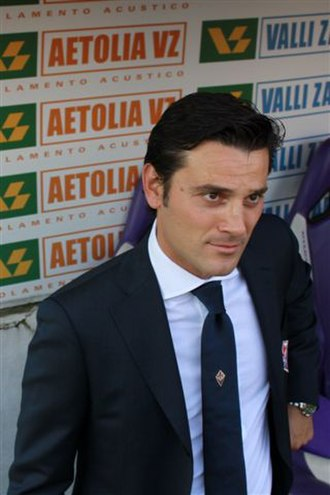 ACF Fiorentina - Former manager Vincenzo Montella.