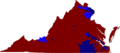 Virginia House of Delegates election results map 2017.png