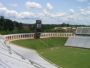 Scott Stadium - Scott Stadium during the summer