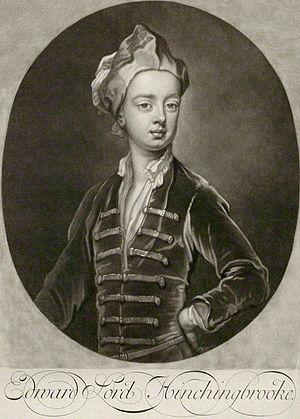 Edward Montagu, Viscount Hinchingbrooke - Lord Hinchingbrooke at age 8