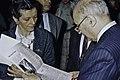 Visite de Mr Curien au SIA 1991-19-cliche Jean Weber.jpg