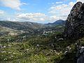 Vista de la Vall de Gallinera des de la pujada a la Foradà.JPG