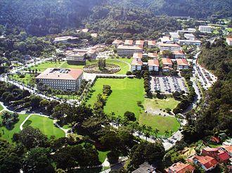 Simón Bolívar University - Panoramic View of the University