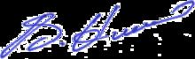 Unterschrift von Vitali Klitschko
