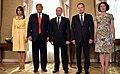 Vladimir Putin, Donald Trump & Sauli Niinistö in Helsinki, 16 July 2018.jpg