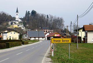 Vnanje Gorice Place in Inner Carniola, Slovenia