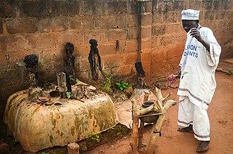 Fon people - Image: Vodoun d'Abomey