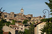Vue d'ensemble du vieux village Châteauneuf-du-Pape.JPG