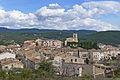 Vue du village de Flayosc depuis le chemin de la Colle (1).JPG