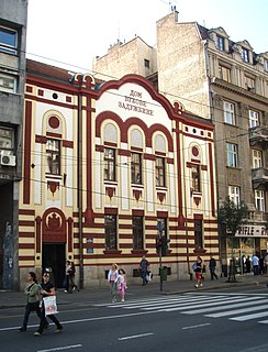 House of Vuks Foundation Historical building in Belgrade