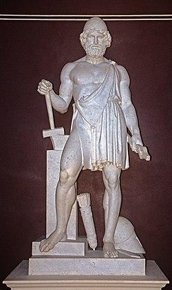 Древнегреческий бог искуства
