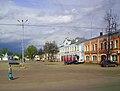Vyazniki. Sobornaya Square in April.jpg