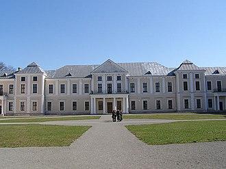 Vyshnivets - Image: Vyshnevetskyy Palace