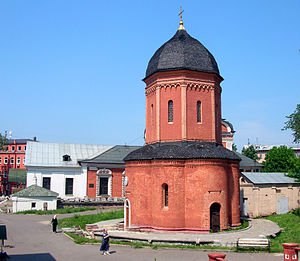 Tverskoy District - St. Peter's Cathedral, Vysokopetrovsky Monastery, ca. 1508