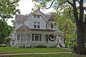 National Register of Historic Places listings in Madison County, Iowa - Image: W. J. AND NETTIE J. CORNELL HOUSE, MADISON COUNTY, IA