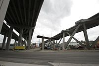 WA-16 Nalley Valley Viaduct demolition.jpg