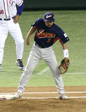Michihiro Ogasawara - Ogasawara played for Japan in the 2006 World Baseball Classic.