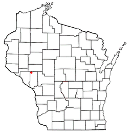 Location of Eleva, Wisconsin