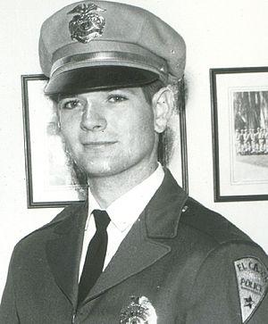 William John Cox - Graduating from San Diego Police Academy (1963)